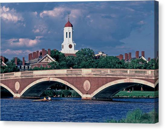 Weeks Bridge Charles River Canvas Print