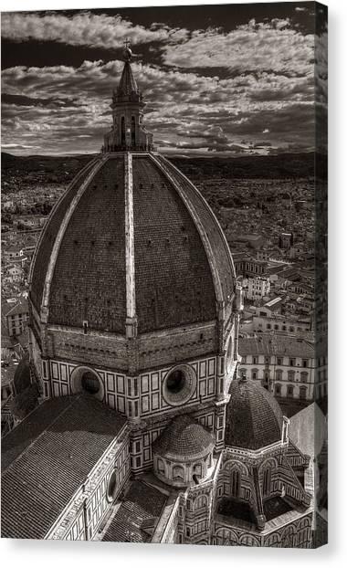 Duomo Dalla Campanile  Canvas Print