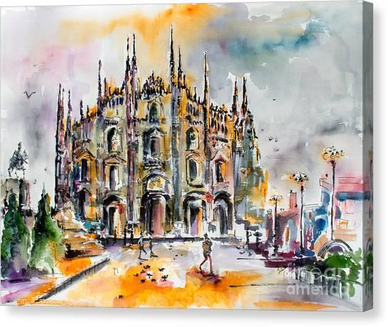 Duomo Milan Italy Canvas Print