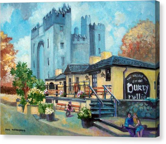 Durty Nellies  Co Clare Ireland Canvas Print