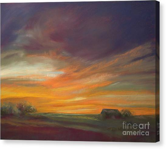 Dusk Canvas Print by Addie Hocynec