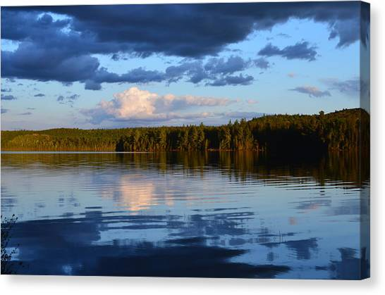 Dusk After A Storm Canvas Print