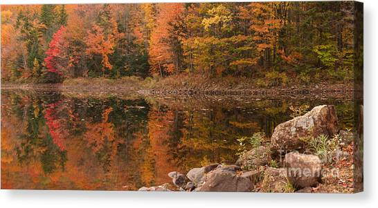 Dusk Reflections Canvas Print