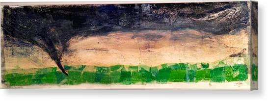 Storm Canvas Print - Dusk Twister by Jame Hayes