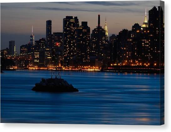 Dusky Nyc Skyline Canvas Print