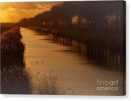 Dutch Landscape Canvas Print