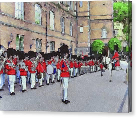 Royal Guard Canvas Print - Dutch Royal Guards by Yury Malkov