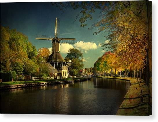 Dutch Windmill Canvas Print