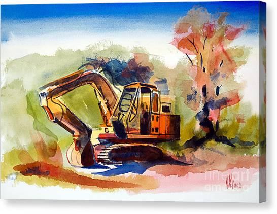 Duty Dozer II Canvas Print