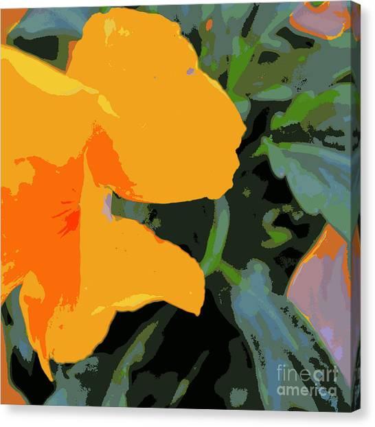 Duvet 87 Canvas Print
