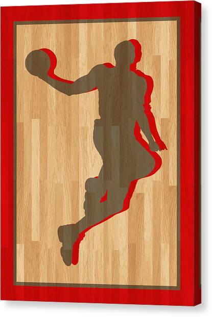 Dwight Howard Canvas Print - Dwight Howard Houston Rockets by Joe Hamilton