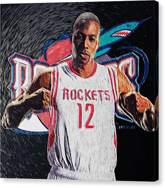 Dwight Howard Canvas Print - Dwight Howard by Zapista