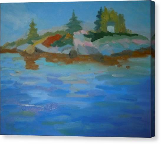 Dyer Bay Island Canvas Print