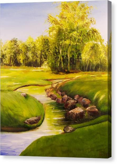 Dylan's Creek Canvas Print