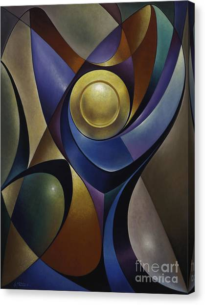 Dynamic Chalice Canvas Print