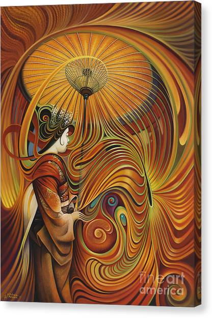 Dynamic Oriental Canvas Print