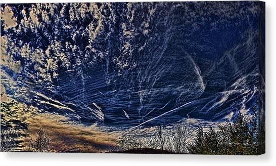Dynamic Skyscape Canvas Print