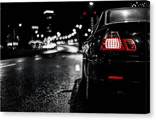 Stoplights Canvas Print - E46 by Chris Thodd