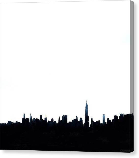 Minimalism Canvas Print - each Man Reads His Own Meaning In New by Natasha Marco