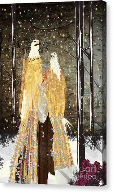 Winter Dress Canvas Print