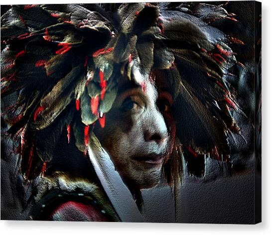 Eagle Feather Canvas Print