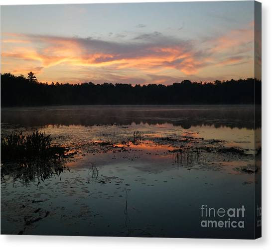 Eagle River Sunrise No.5 Canvas Print