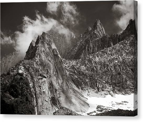 Eagle Scout Canvas Print - Eagle Scout Peak In Sequoia National Park by Joe Doherty