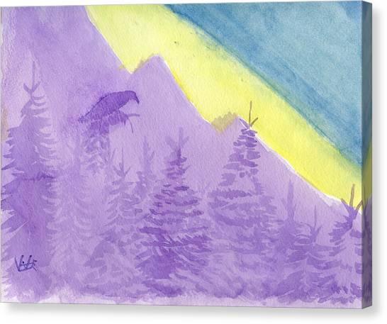 Eagle View Canvas Print