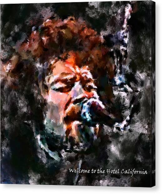 Eagles Hotel California 1 Canvas Print