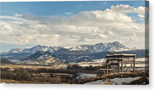 Eagles Nest Canvas Print by Daniel Hebard