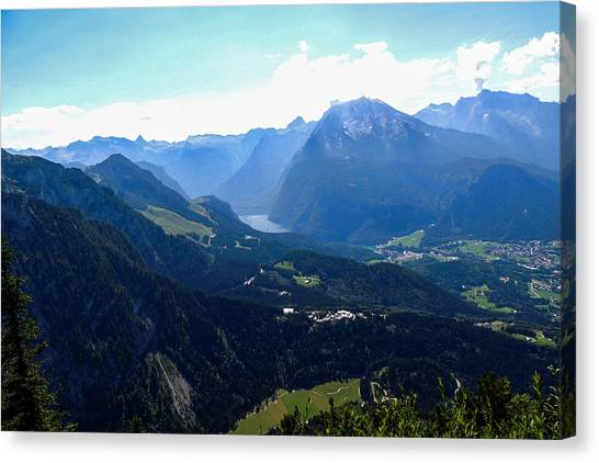 Eagle's Nest Vista Canvas Print