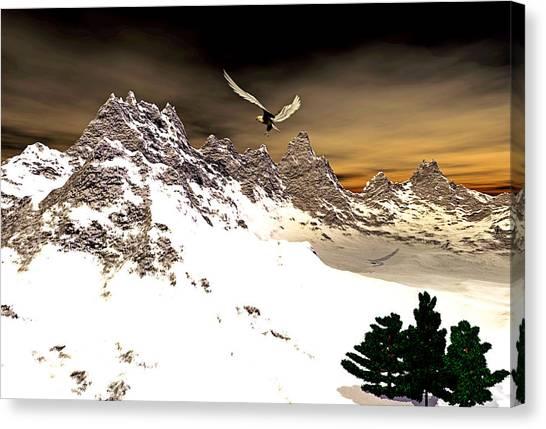 Eagles' Peak Canvas Print