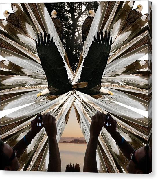Eagle's Song Canvas Print