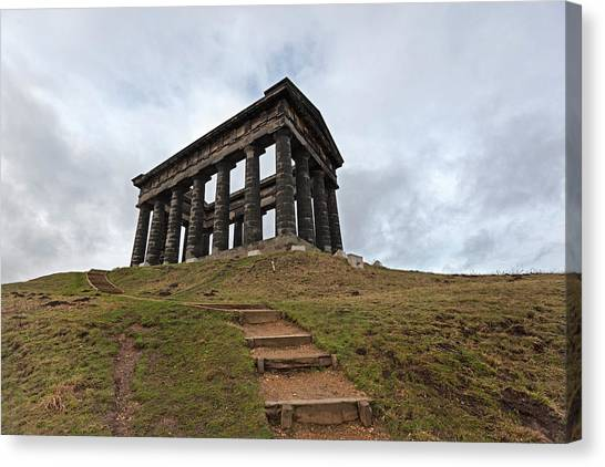 Sunderland Canvas Print - Earl Of Durhams Monument Commonly by John Freeman