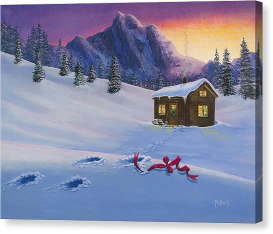 Early Christmas Morn Canvas Print