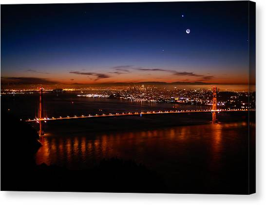 Early December Morning Canvas Print