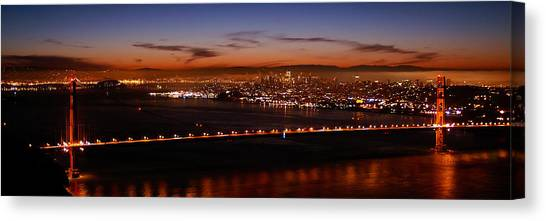 Early December Morning Pano Canvas Print