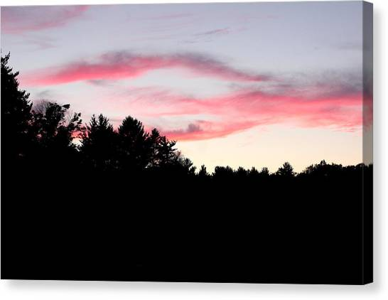 Early Fall Sky Ix Canvas Print by Brian Lucia
