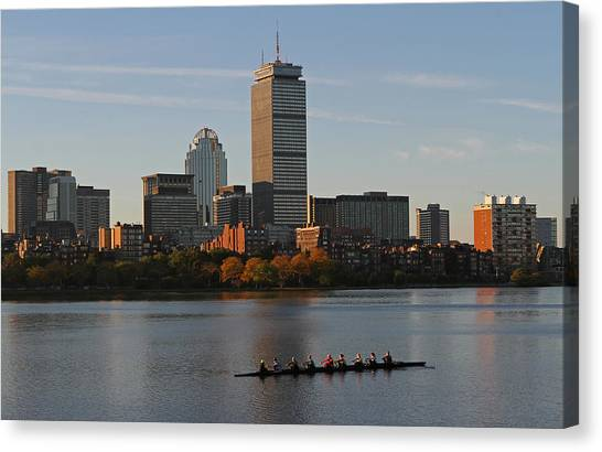 Early Morning Preparation For The Head Of The Charles  Canvas Print