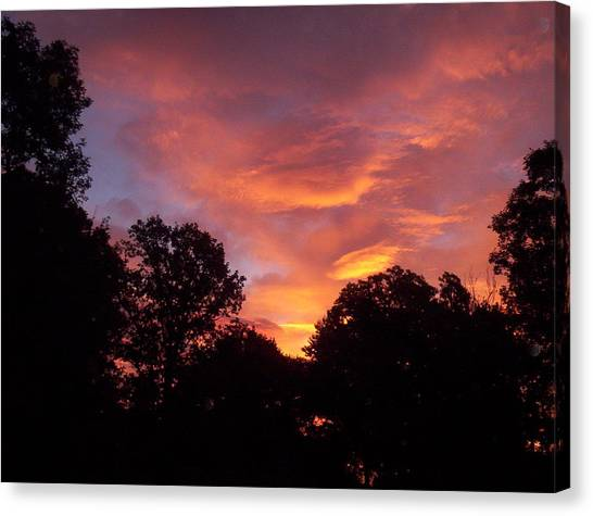 Early Morning Rise Canvas Print