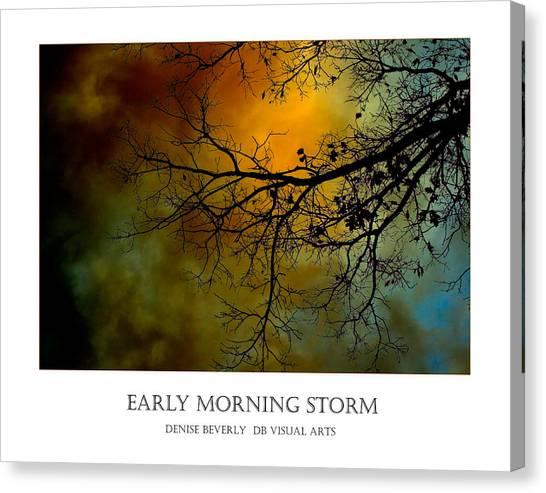 Early Morning Storm Canvas Print