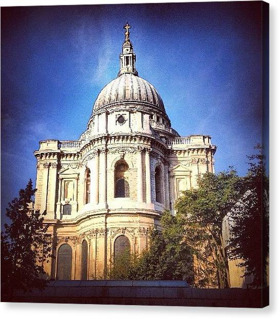 Wrens Canvas Print - Early Morning. #stpauls #wren #east by Alex Nisbett