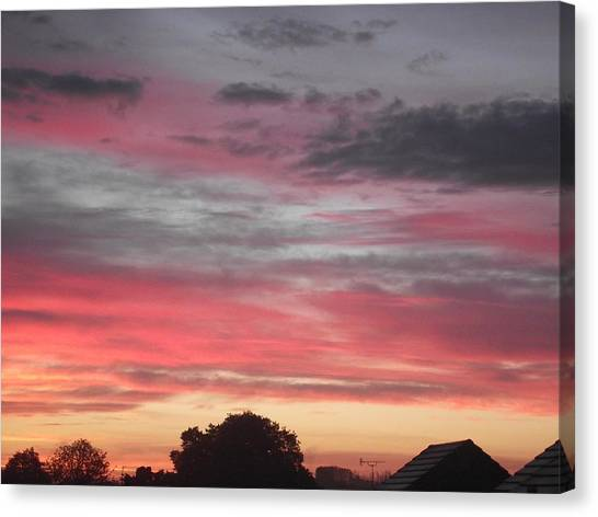 Early Morning Sunrise 1 Canvas Print