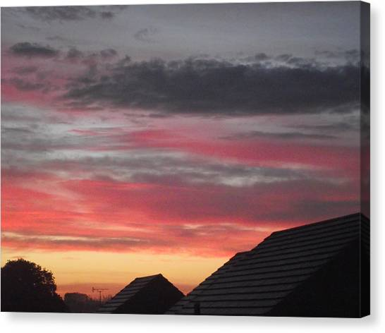 Early Morning Sunrise 4 Canvas Print