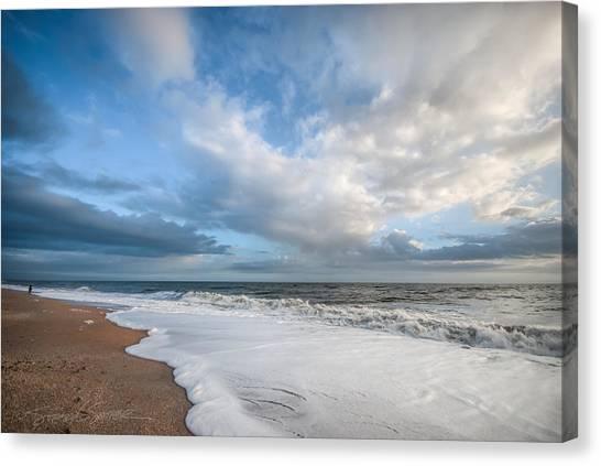 Early Morning Vilano Beach Canvas Print