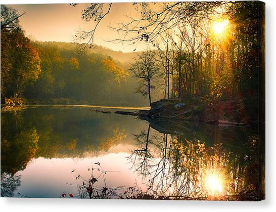 Early Morning Canvas Print by Vincent  Dale