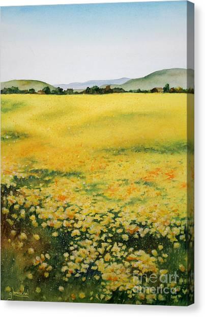 Early Spring Near Half Moon Bay Canvas Print