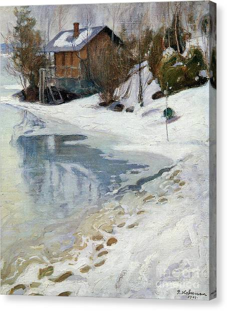 Pekka Canvas Print - Early Spring by Celestial Images