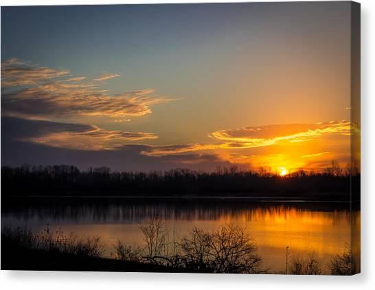 Early Sunrise Canvas Print