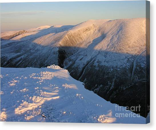 Early Winter Cairngorms Canvas Print